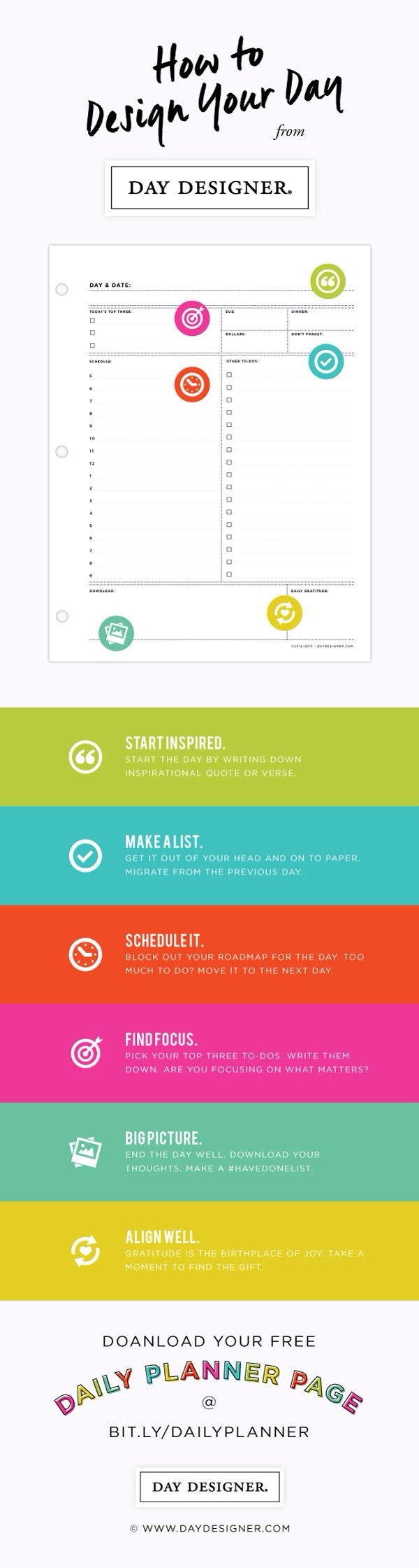 How the Day Designer works.